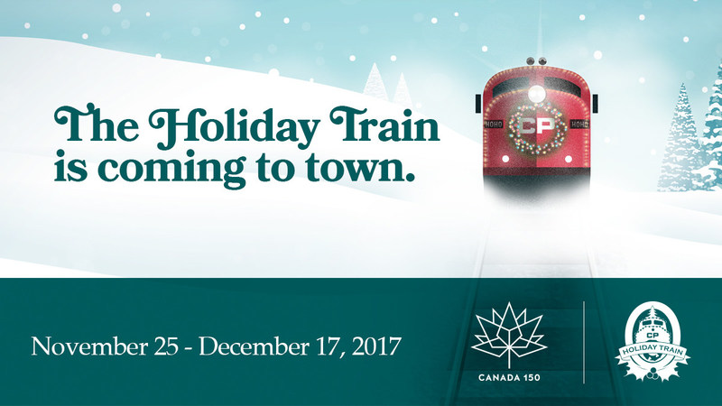 With its biggest ever lineup of Canadian talent, the CP Holiday Train is set to close out Canada 150 with its 19th annual tour. (CNW Group/Canadian Pacific Holiday Train)