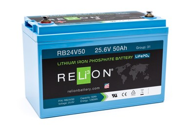 RELiON Battery Selected by Garia to Power Industrial Electric Utility Vehicles