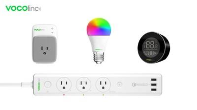 VOCOlinc's voice-activated smart home product line