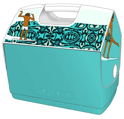 Custom Andy Davis for Igloo® Playmate® Cooler