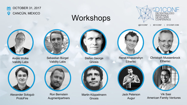 #D1Conf: The speakers at the hands-on workshops
