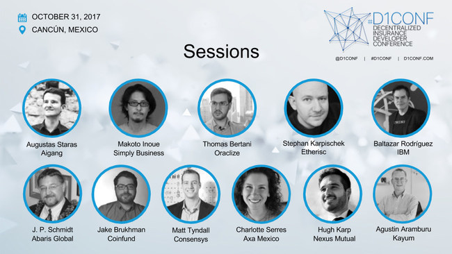 #D1Conf: The speakers at the interactive sessions