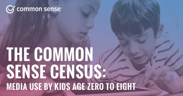 Common Sense releases new research on media use of children ages 0-8.