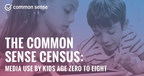 New Research by Common Sense Finds Major Spike in Mobile Media Use and Device Ownership by Children Age 0 to 8