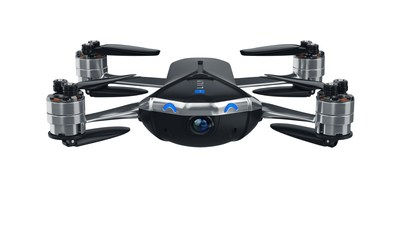 Lily Next-Gen: Point-and-shoot follow-me drone records in 4K ultra HD. Smart software to avoid no-fly zones, return home if low battery, and avoid obstacles when landing. Folds to the width of a smartphone, light enough to take anywhere.