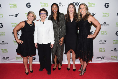 The Women's Sports Foundation's 38th Annual Salute To Women in Sports Awards Gala on October 18, 2017 in New York City. Photo by Nicholas Hunt/Getty Images for Women's Sports Foundation
