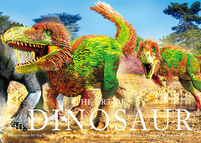 PIE International announces an unprecedented dinosaur art book, The Art of the Dinosaur by the most talented paleoartists in the world