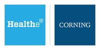 Healthe & Corning logos