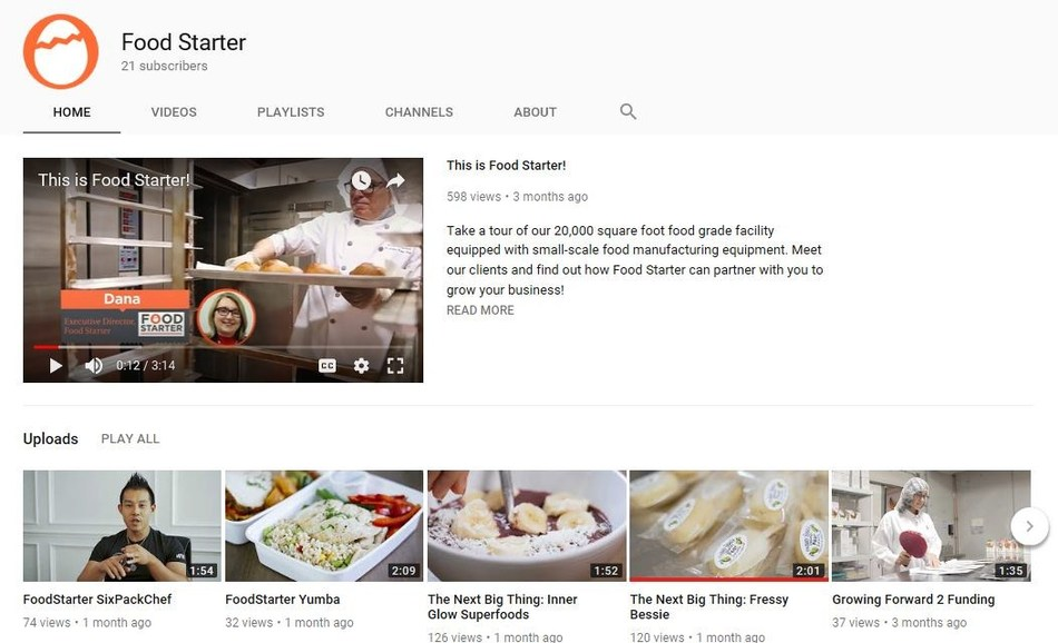 Food Starter launches video series for food entrepreneurs (CNW Group/Foodstarter)