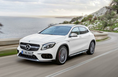 Mercedes-Benz of Arrowhead welcomes its new 2018 fall collection, which includes the 2018 GLA, pictured here.