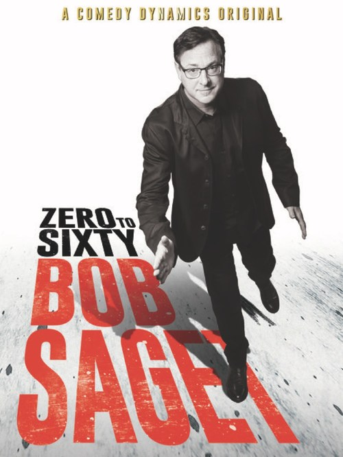 Bob Saget's new special, Zero to Sixty, opens in Canada on VOD & Digital on November 14, 2017 (CNW Group/levelFILM)