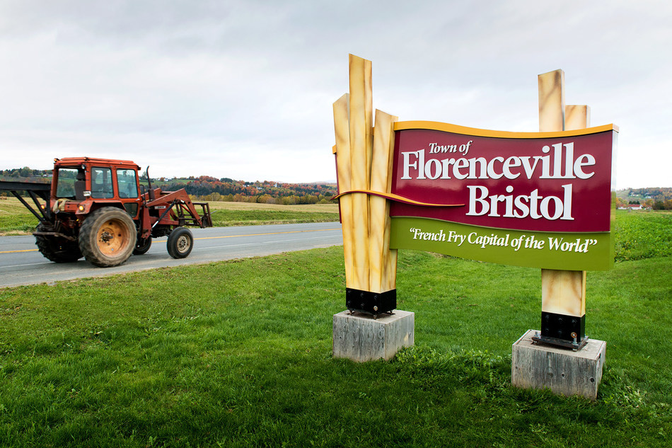Florenceville-Bristol, Birthplace of McCain, French Fry Capital of World (CNW Group/McCain Foods (Canada))