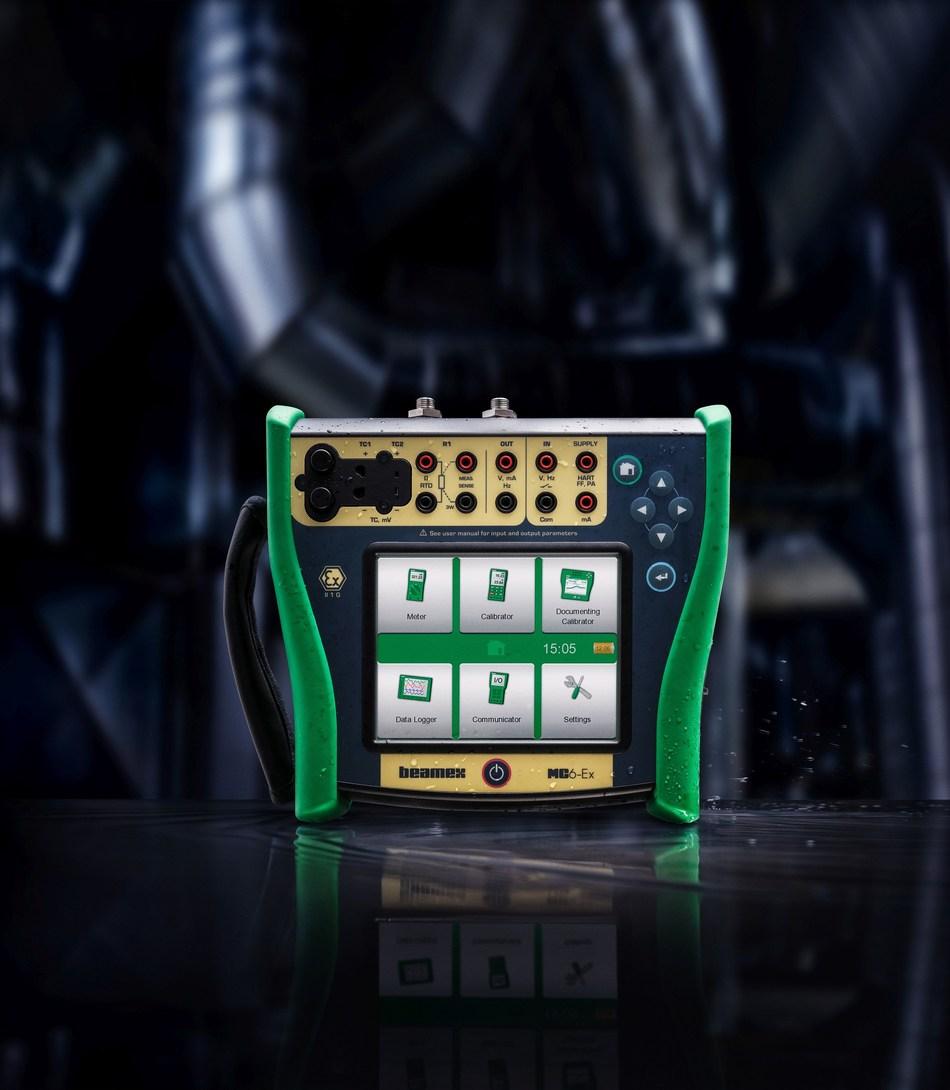 Beamex MC6-Ex Intrinsically safe calibrator (PRNewsfoto/Beamex)