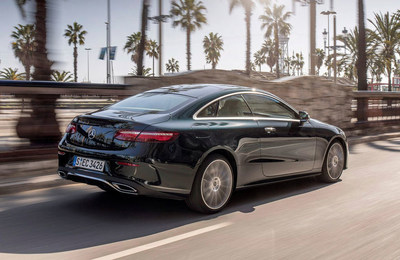 Mercedes-Benz of Scottsdale is offering lease specials on its new 2018 fall collection, including the 2018 E-Class Coupe, pictured here.