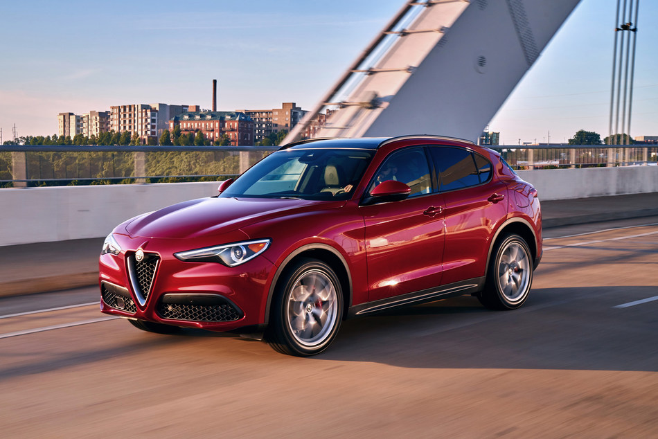 "2018 Alfa Romeo Stelvio – the new ""Crossover of Texas"" champion – Wins Three Awards from the Texas Auto Writers Association"