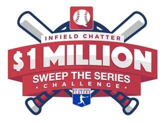 "MLBPA And Players Give Fans A Chance To Win $1 Million In Infield Chatter's ""Sweep The Series Challenge"""
