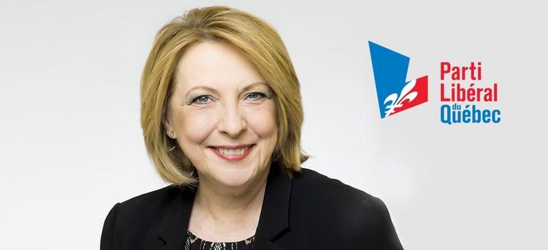 Christine St-Pierre, députée d'Acadie (Groupe CNW/Parti libéral du Québec)