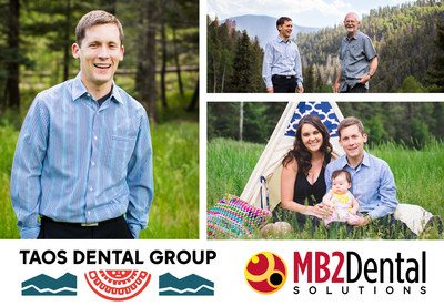 Dr. Nylund of Taos Dental Group, an MB2 Dental practice