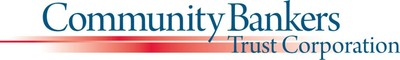 Community Bankers Trust Corporation Announces Timing of Earnings Release and Conference Call