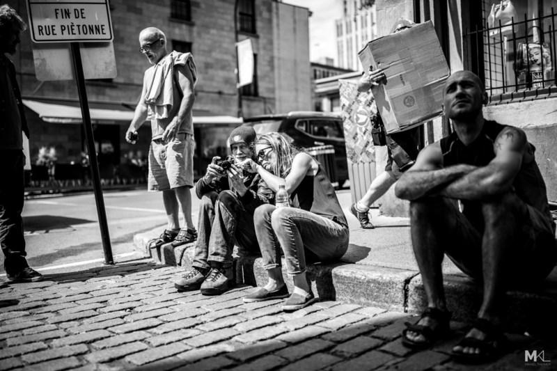 Des points de vue alternatifs sur Montréal grâce à l'exposition de photos Vues de la rue à BAnQ Vieux-Montréal. (Groupe CNW/Bibliothèque et Archives nationales du Québec)