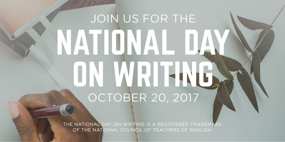 Please visit http://whyiwrite.us/ for a wealth of resources in support of the National Day on Writing.
