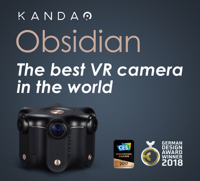 Kandao Obsidian VR Camera Triumphs in Excellent Product Design at the German Design Award 2018