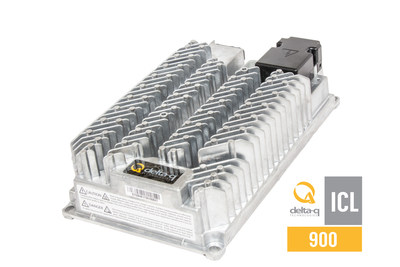 Delta-Q Technologies announces their new ICL900 lithium battery charger for electric vehicles and industrial machines. (CNW Group/Delta-Q Technologies Corp.)