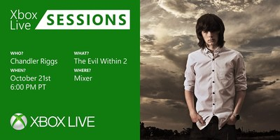 "The Walking Dead's Chandler Riggs to go from ""Horror"" TV to Gaming When He Joins Xbox Live Sessions to Play, The Evil Within 2, on October 21st"
