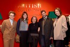 Luke Edward Hall, Victoria Stapleton, Desiree Bollier, Trevor Pickett and Caroline Rush (PRNewsfoto/Bicester Village)