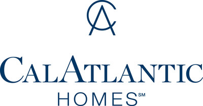The Home Builders Association (HBA) of Greater Austin awarded CalAtlantic Homes with the Grand MAX Large Volume Builder of the Year Award for the second consecutive year at their annual Marketing and Advertising Excellence (MAX) Awards and Gala. (PRNewsfoto/CalAtlantic Homes)