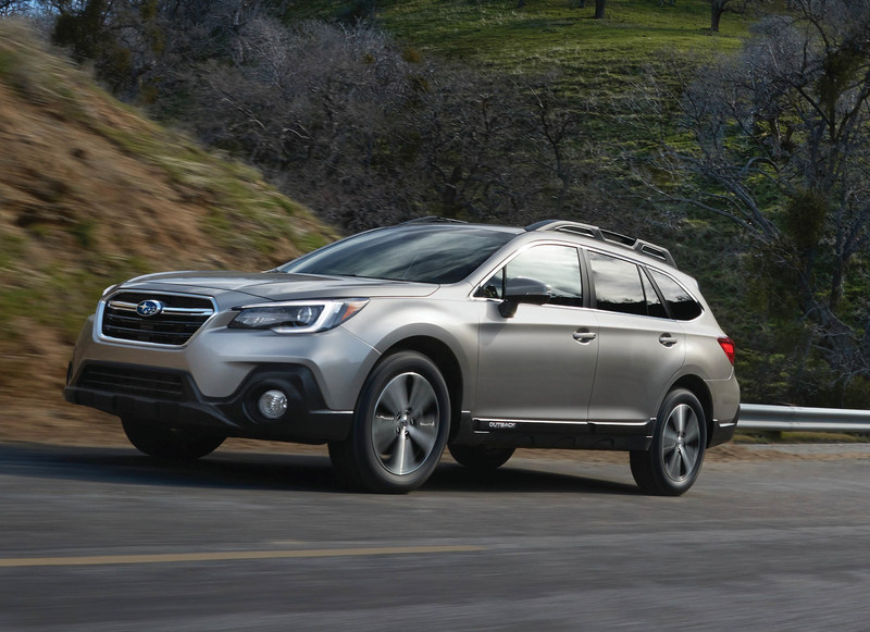 2018 Subaru Outback And Legacy Earn IIHS Top Safety Rating For New