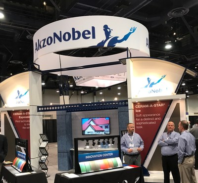 AkzoNobel is at METALCON 2017 in Las Vegas this week, where the company introduced CERAM-A-STAR Expressions, an innovative textured finish that engages the senses with the visual appeal of a print and texture that adds depth and dimension.