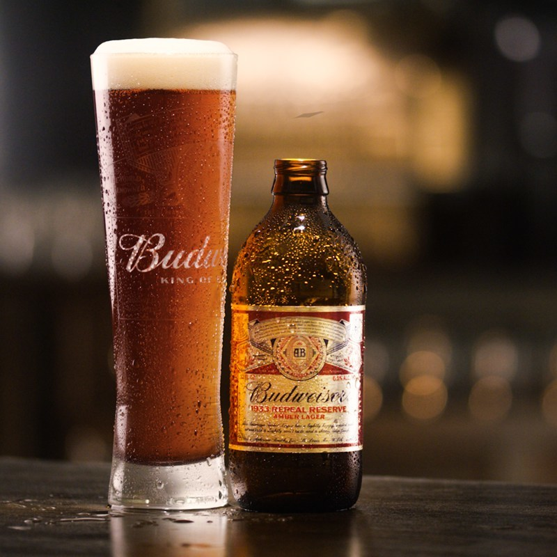 Budweiser Releases New Limited-Edition 1933 Repeal Reserve, an Amber Lager in Celebration of Prohibition's Repeal