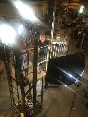 "Duvinage Employees and Processes Filmed in Hagerstown, Maryland for ""How It's Made"""