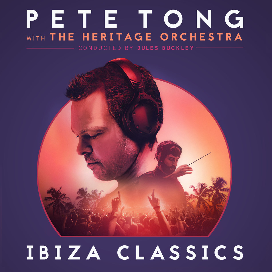Pete Tong 'Ibiza Classics' with The Heritage Orchestra, directed by Chris Wheeler and conducted by Jules Buckley, will be released December 1 by UMe on CD, vinyl LP, and digital audio. 'Ibiza Classics' is the follow-up to the 2016 UK Number One album, Pete Tong 'Classic House,' a landmark record that saw the dance pioneer rework classic Ibiza dance tunes with an orchestra. A run of international arena shows is upcoming, including the Hollywood Bowl in Los Angeles on Thursday, November 9.