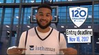 Basketball star Cory Joseph referencing one of the prize packs and a chance for a meet and greet. (CNW Group/Isthmus)