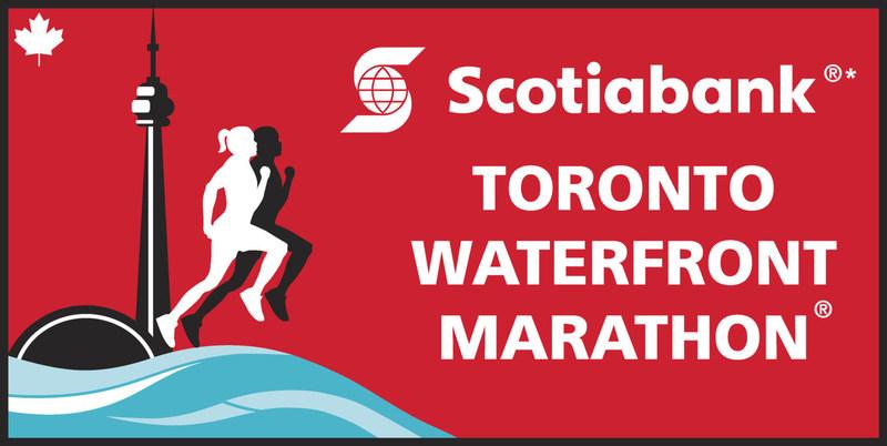Scotiabank Toronto Waterfront Marathon (CNW Group/Scotiabank)