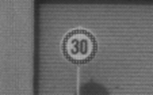 Distant sample image comparison: IMX324 (7.42M) magnified image