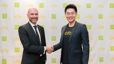 ofo and C40 join hands to tackle worldwide climate change issues. ofo will contribute in every way possible to researches focused on healthy livable cities, identification of high impact actions, and benifits of inclusive climate actions.