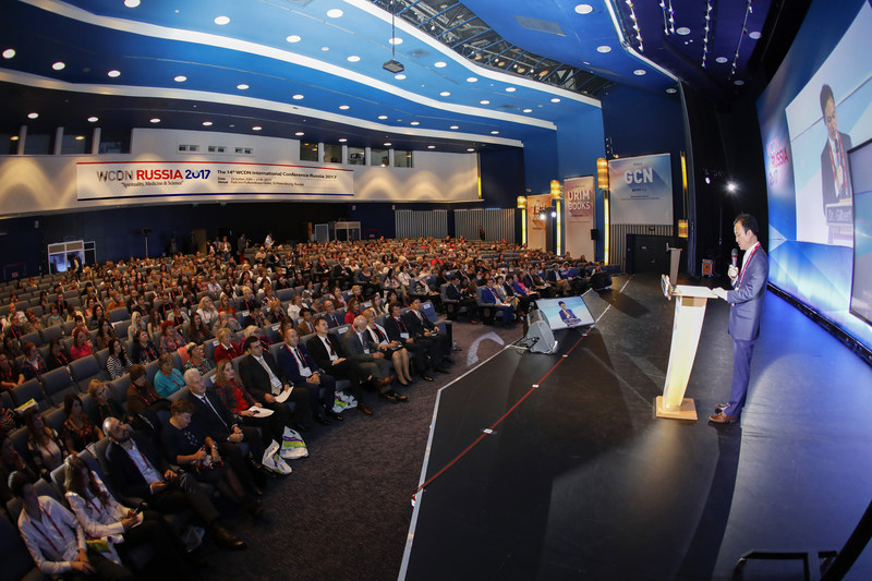 The 14th WCDN Conference held in the City of St. Petersburg of Russia that is a Russian Orthodox Church country.