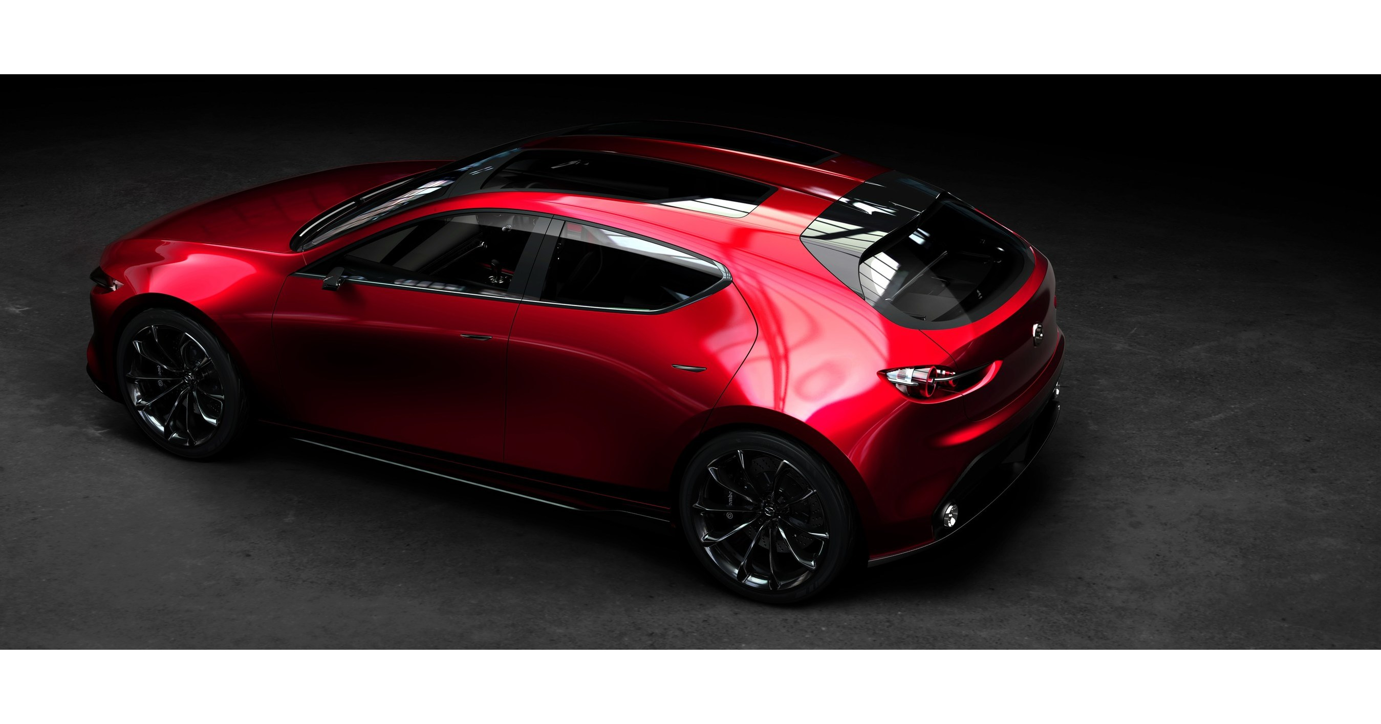 cnw mazda unveils kai concept and vision coupe at tokyo motor show. Black Bedroom Furniture Sets. Home Design Ideas