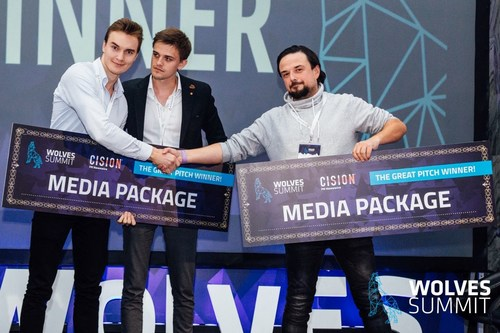GetAnna and Apzumi, Winners of the Great Pitch Competition (PRNewsfoto/Wolves Summit)