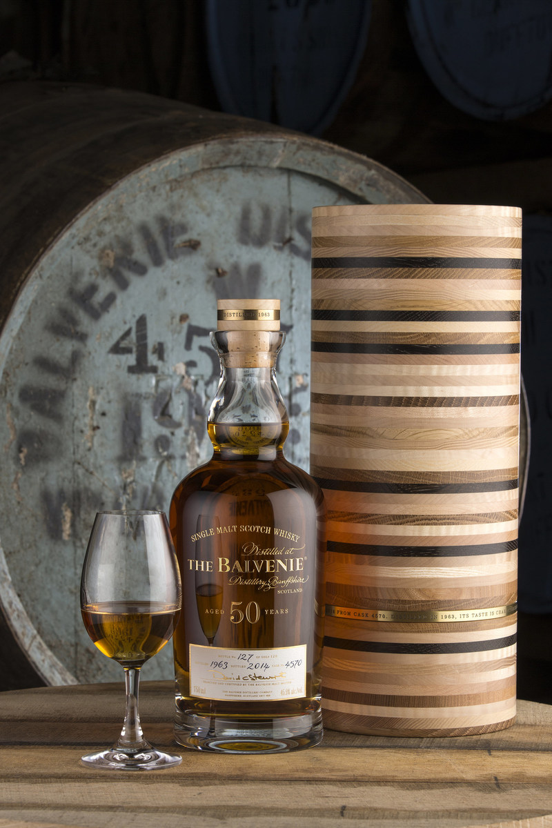 Rare Balvenie® 50-Year-Old Scotch Whisky Released in Calgary, Alberta (CNW Group/William Grant & Sons Ltd.)