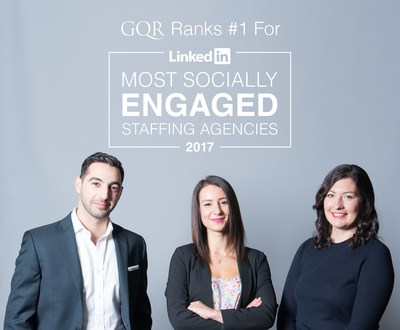 GQR Ranks #1 LinkedIn Most Socially Engaged 2017