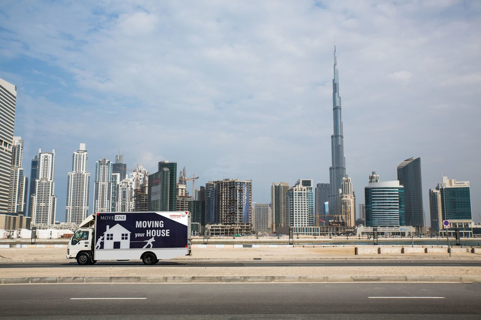 Dubai based Move One Relocations goes Global (PRNewsfoto/Move One)