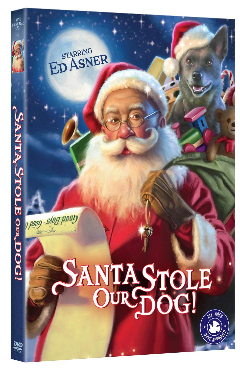 From Universal Pictures Home Entertainment: Santa Stole Our Dog
