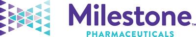 (PRNewsfoto/Milestone Pharmaceuticals)