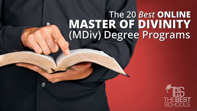 The 20 Best Online Master of Divinity (MDiv) Degree Programs - TheBestSchools.org
