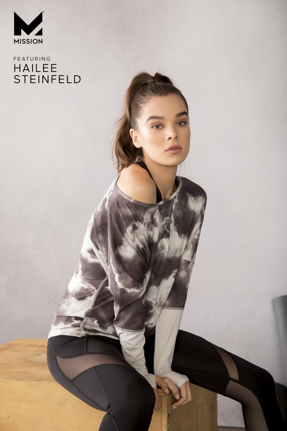 MISSION's Fall/Winter Campaign Featuring Brand Ambassador Hailee Steinfeld