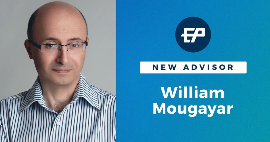 PROMINENT BLOCKCHAIN ADVISOR, WILLIAM MOUGAYAR JOINS ETHERPARTY (CNW Group/Etherparty)